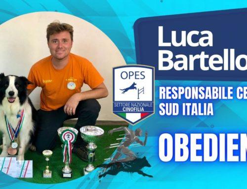 Luca Bartelloni diventa Responsabile del settore Obedience per il Centro e Sud Italia